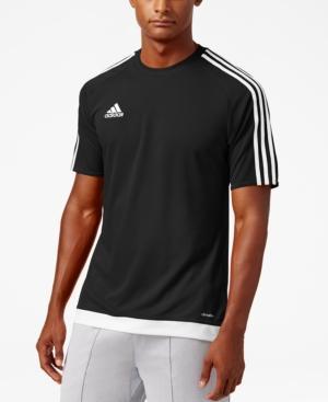Adidas Originals Adidas Men's Short-Sleeve Soccer Jersey In Black