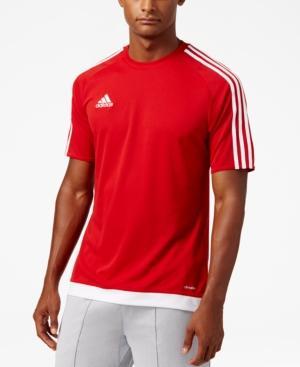Adidas Originals Adidas Men's Short-Sleeve Soccer Jersey In Red