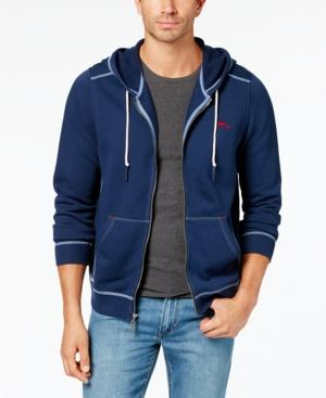 Tommy Bahama Men's Shore Crest Hoodie, Created For Macys In Navy