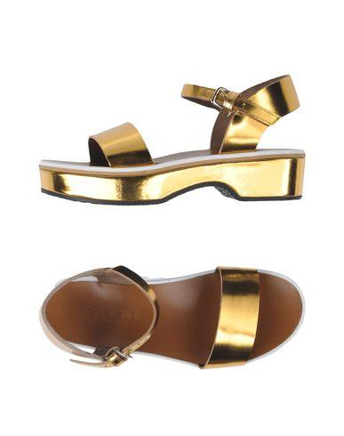 Marni Sandals In Gold