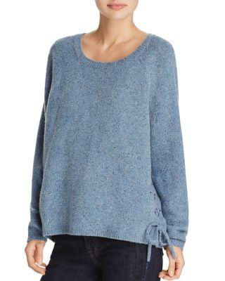 Soft Joie Weslyn Donegal Lace-Up Sweater - 100% Exclusive In Light Dynasty Blue