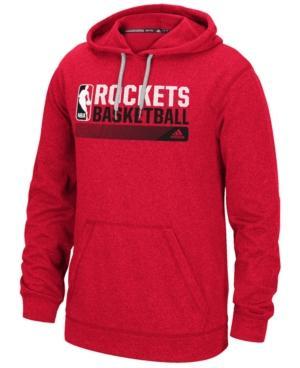 Adidas Originals Adidas Men's Houston Rockets Icon Status Hoodie In Red