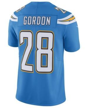 Nike Men's Melvin Gordon Los Angeles Chargers Vapor Untouchable Limited Jersey In Lightblue