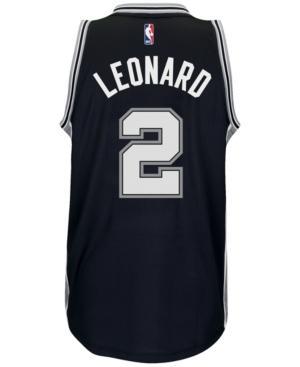 Adidas Originals Adidas Men's Kawhi Leonard San Antonio Spurs Swingman Jersey In Black
