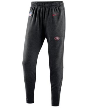 Nike Men's San Francisco 49Ers Travel Pants In Black