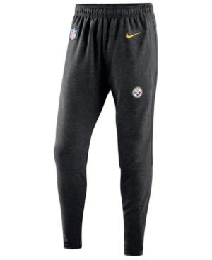 Nike Men's Pittsburgh Steelers Travel Pants In Black