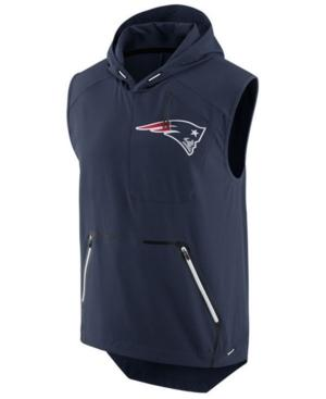 Nike Men's New England Patriots Fly Rush Vest In Navy