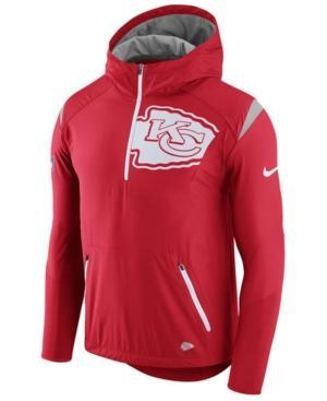 Nike Men's Kansas City Chiefs Lightweight Fly Rush Jacket In Red