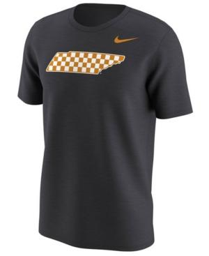 Nike Men's Tennessee Volunteers Alternate Logo T-Shirt In Anthracite