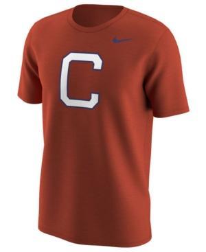 Nike Men's Clemson Tigers Alternate Logo T-Shirt In Orange