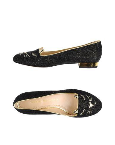 Charlotte Olympia Ballet Flats In Black