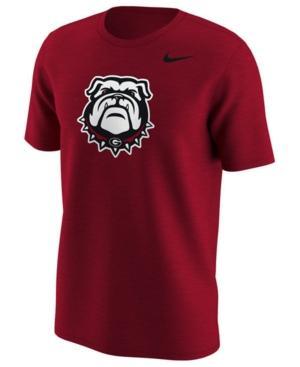 Nike Men's Georgia Bulldogs Alternate Logo T-Shirt In Red