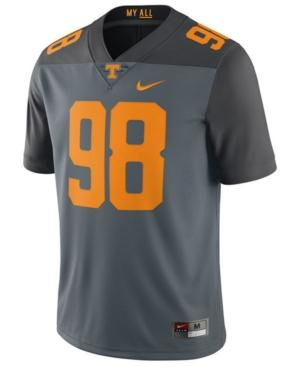 Nike Men's Tennessee Volunteers Limited Football Jersey In Gray