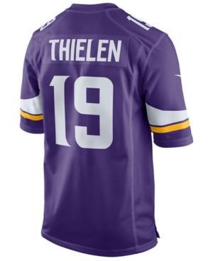 Nike Men's Adam Thielen Minnesota Vikings Game Jersey In Purple