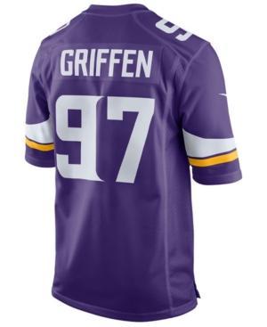 Nike Men's Everson Griffen Minnesota Vikings Game Jersey In Purple