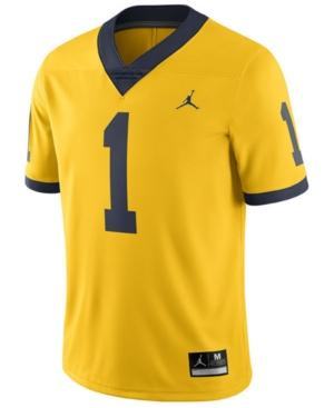 Nike Men's Michigan Wolverines Limited Football Jersey In Yellow