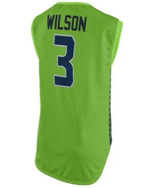 Nike Women's Russell Wilson Seattle Seahawks Color Rush Sleeveless Player Jersey In Limegreen
