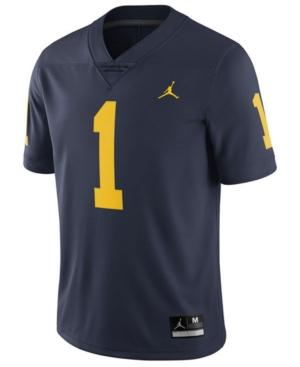 Nike Men's Michigan Wolverines Limited Football Jersey In Navy