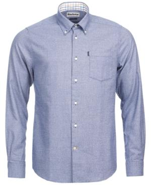 Barbour Men's Theo Shirt, A Macy's Exclusive Style In Navy