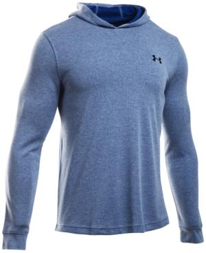 Under Armour Men's Waffle Hooded Base Layer Top In Heron
