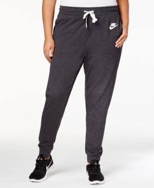 Nike Sportswear Gym Classic Pants In Black/Sail
