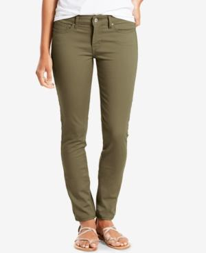 Levi's 711 Skinny 4-Way Stretch Jeans In Natural