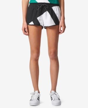 Adidas Originals Eqt Shorts In Black/White