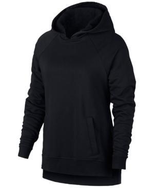 Nike Dry Training Hoodie In Black