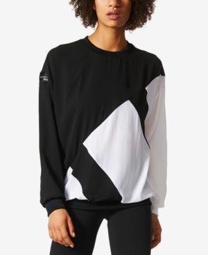 Adidas Originals Eqt Sweatshirt In Black/White