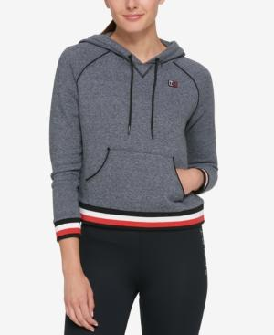 Tommy Hilfiger Sport Cropped Hoodie, Created For Macy's In Quartz Combo