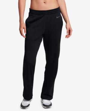 Nike Therma Training Pants In Black