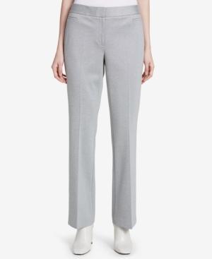 Calvin Klein Straight-Leg Pants In Silver
