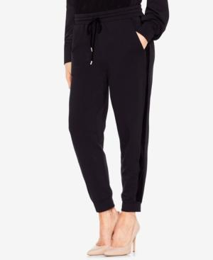Vince Camuto Two By  Jogger Pants In Rich Black