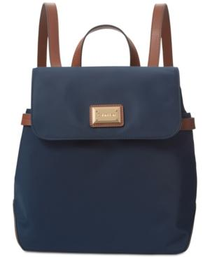 Calvin Klein Teodora Large Backpack In Navy