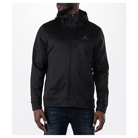 Nike Men's Air Jordan Therma 23 Alpha Training Jacket, Black