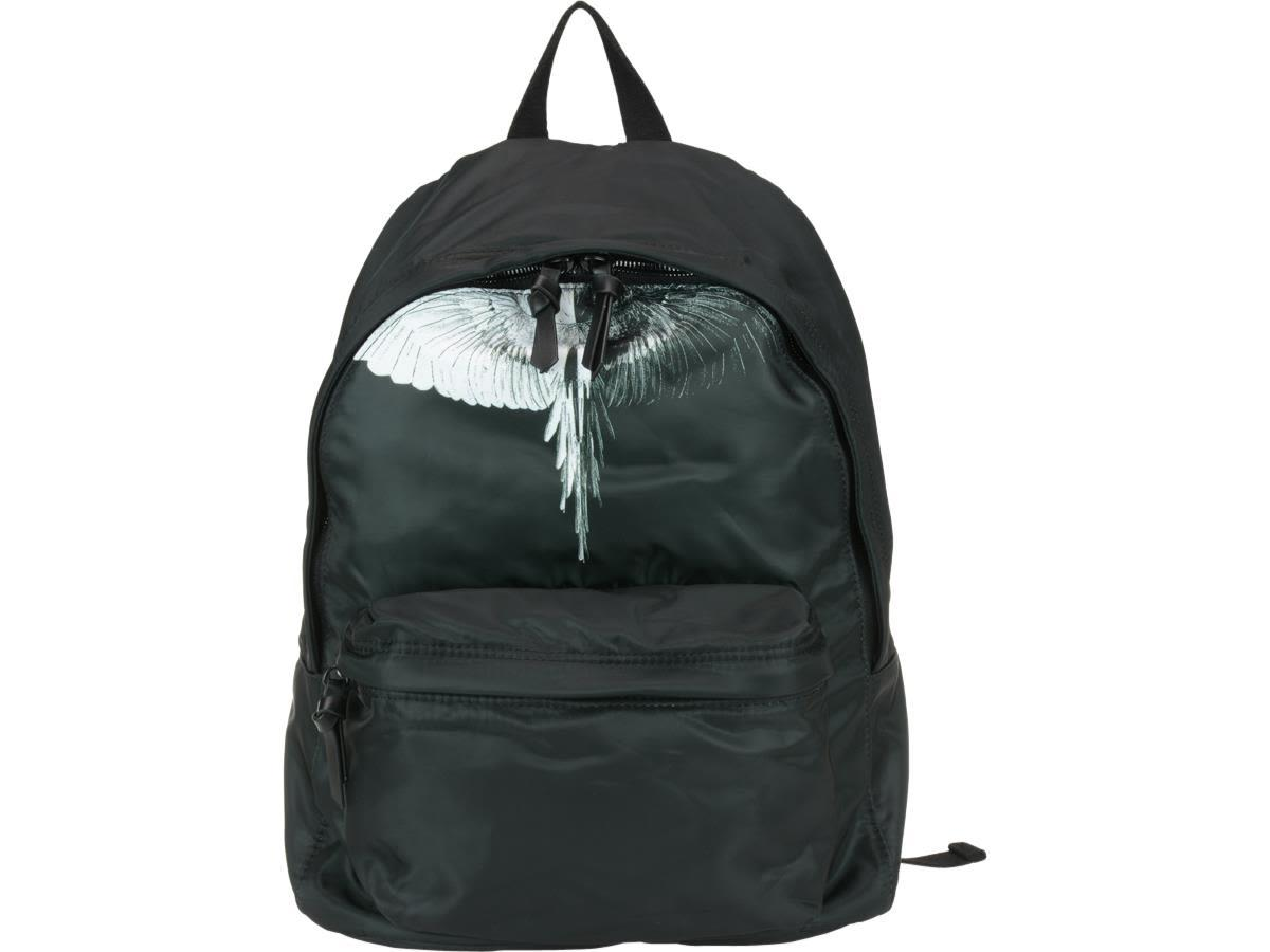 Marcelo Burlon County Of Milan Aish Backpack In Black White