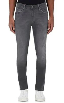 J Brand Tyler Slim Jeans In Dark Grey,Black