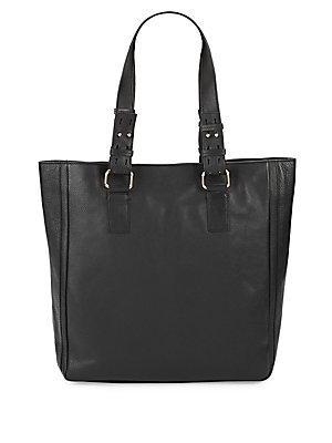 Kooba Hartford Leather Tote In Black