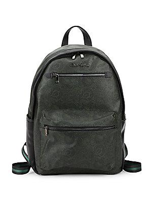 Robert Graham North Argyle Paisley Backpack In Forest