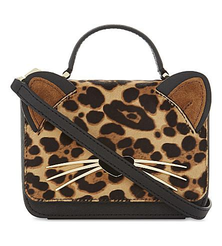 Kate Spade Hallie Run-Wild Shoulder Bag In Multi