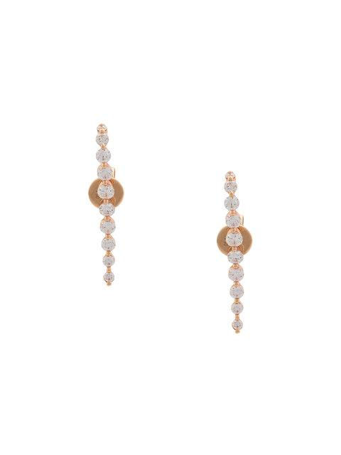 Anita Ko 18Kt Gold Medium Cascade Daimond Earrings