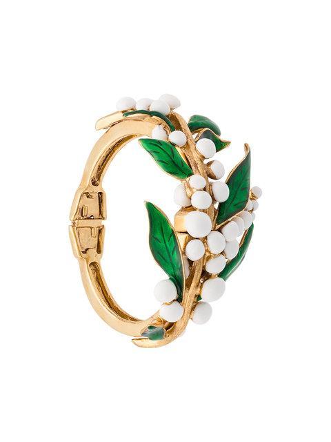 Oscar De La Renta Vine Cuff Bracelet