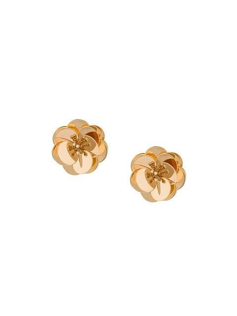 Eddie Borgo Sikka Blossom Earrings