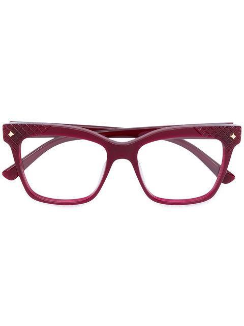 Mcm Square Frame Glasses