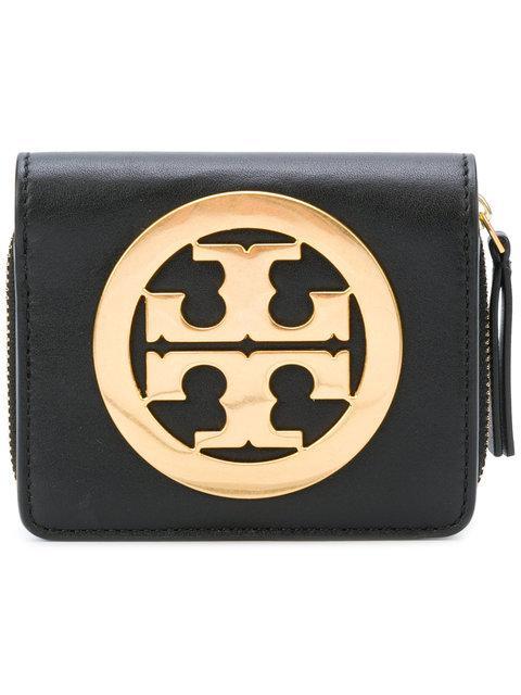 Tory Burch Charlie Mini Bi-Fold Wallet
