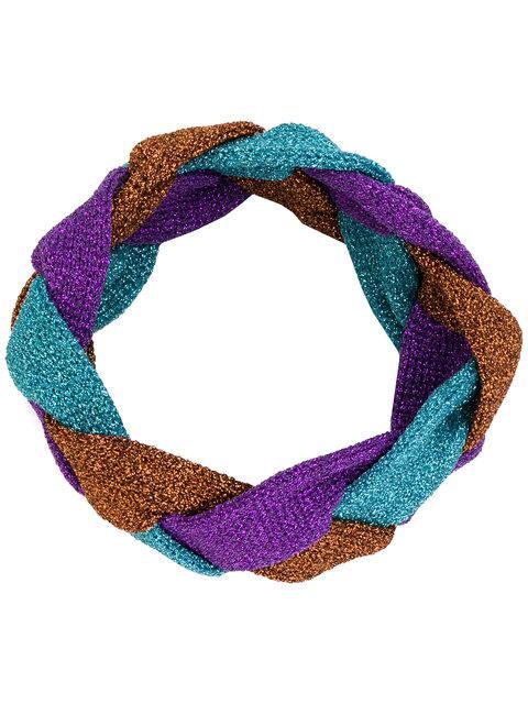 Gucci Metallic Knit Headband