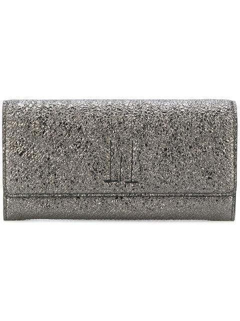 Golden Goose Glitter-Effect Foldover Wallet