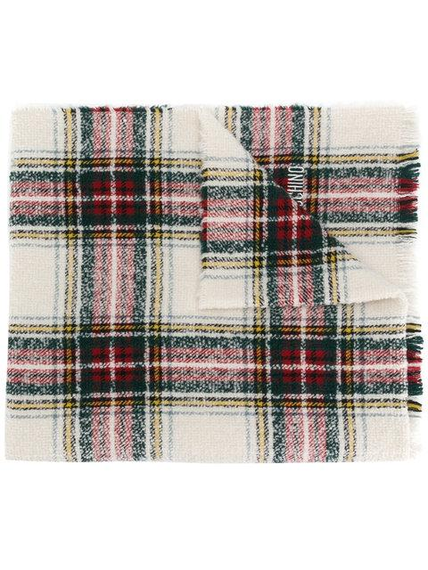 Moschino Checked Scarf