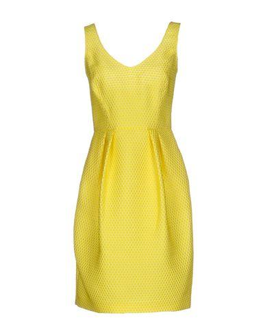 Armani Collezioni Short Dress In Yellow