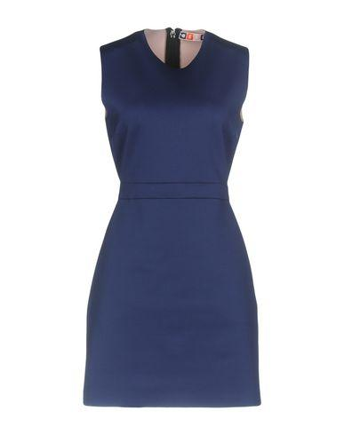 Msgm Short Dress In Blue